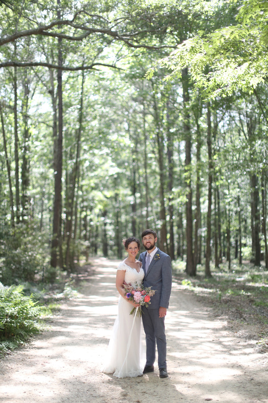 bride and groom on a dirt road.jpg