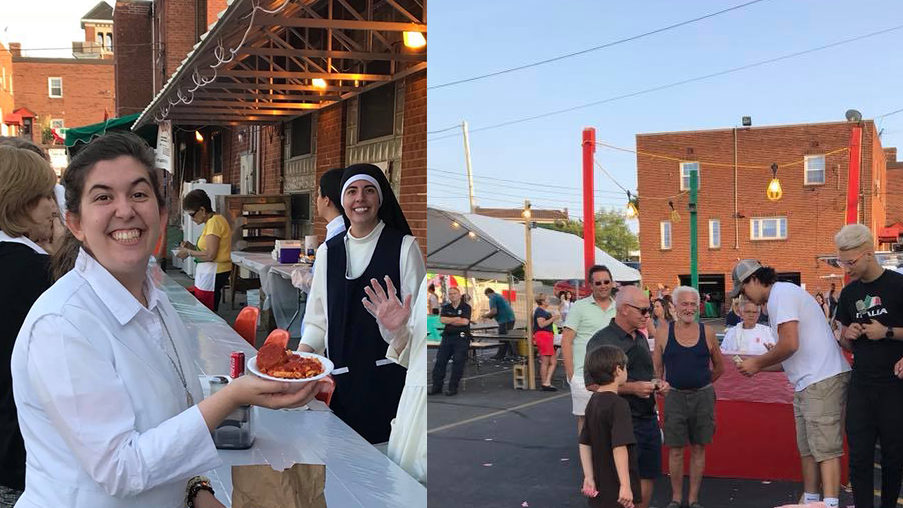 Our Lady of Mount Carmel Italian Festival — Detroit Shoreway