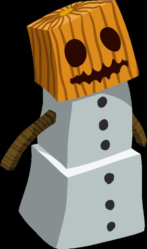 minecraft snowman.png