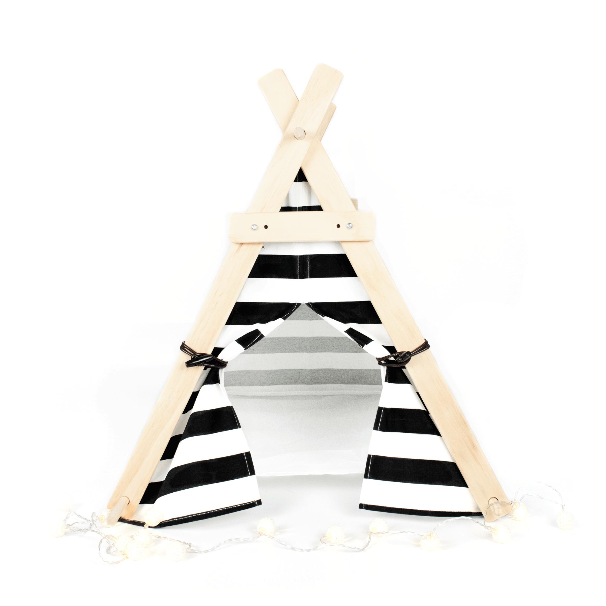 Black And White Pet Tent by Katt & Hound
