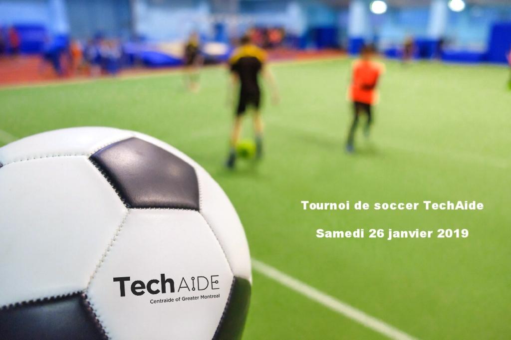 Tournoi de soccer TechAide 2019