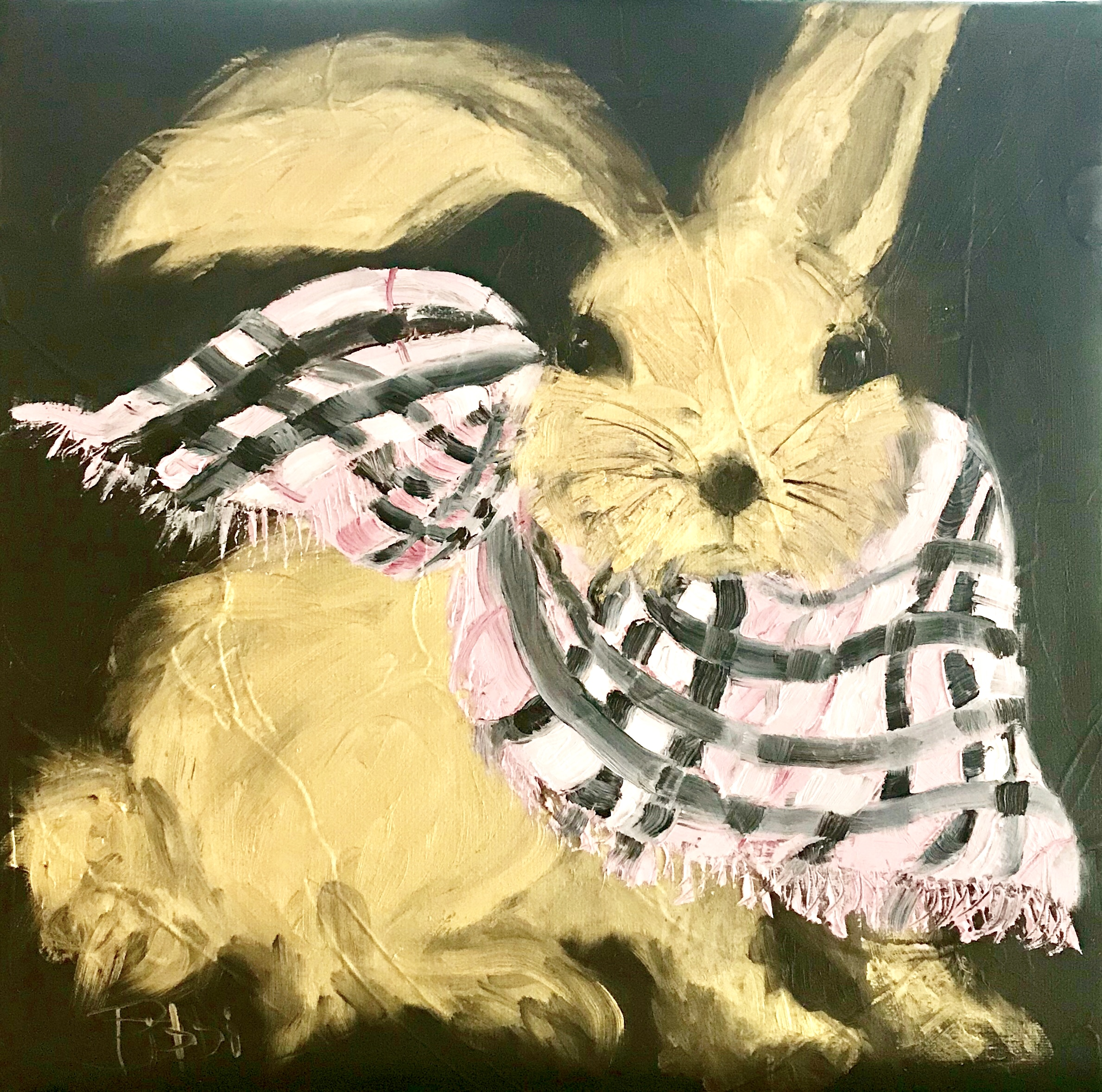 Golden Hare - Burberry Scarf