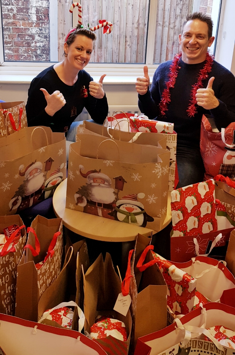 Christmas Gifts for the Family Centre in Sandbach