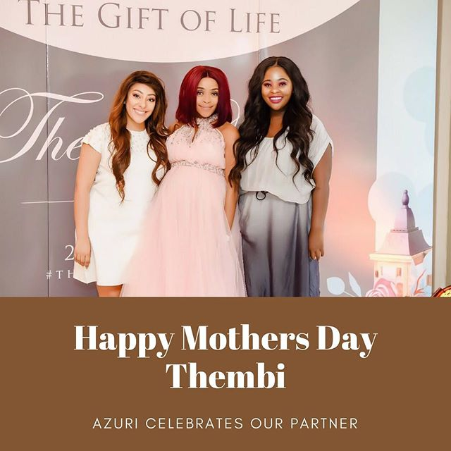 Happy First Mother's Day to you Tay , We love you ❤️ #Azuricelebrates #Azuricosmetics