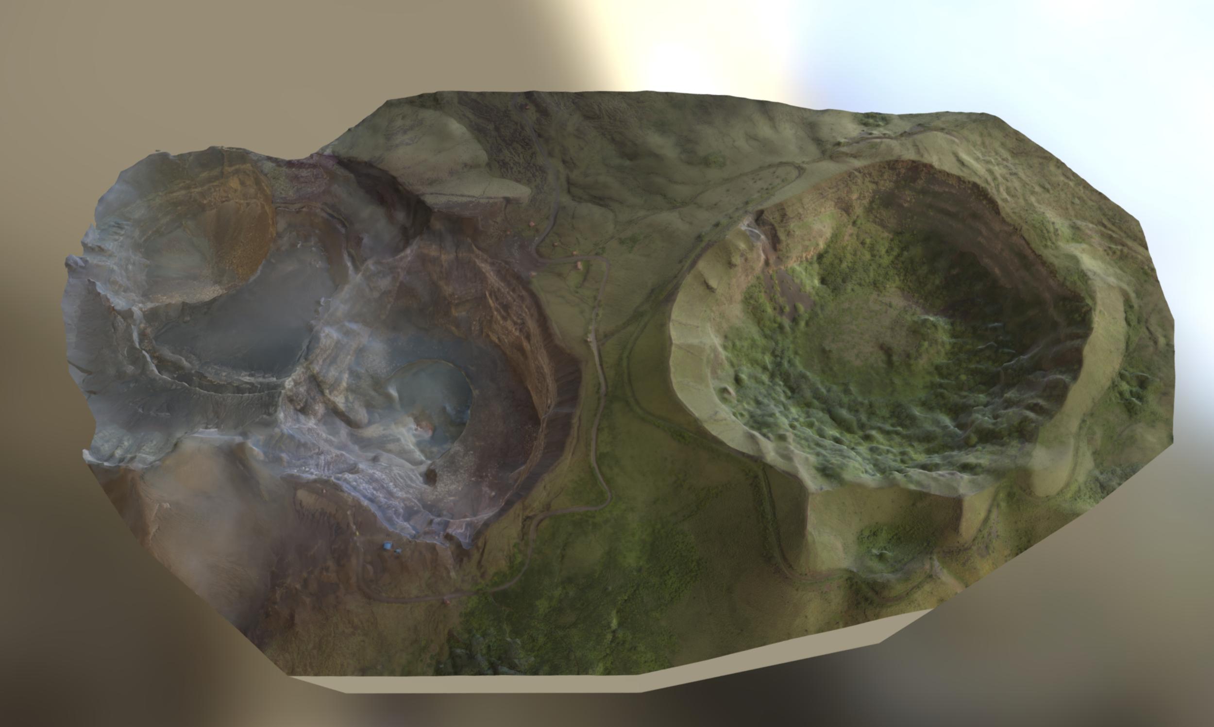 3D Model of Volcano Masaya