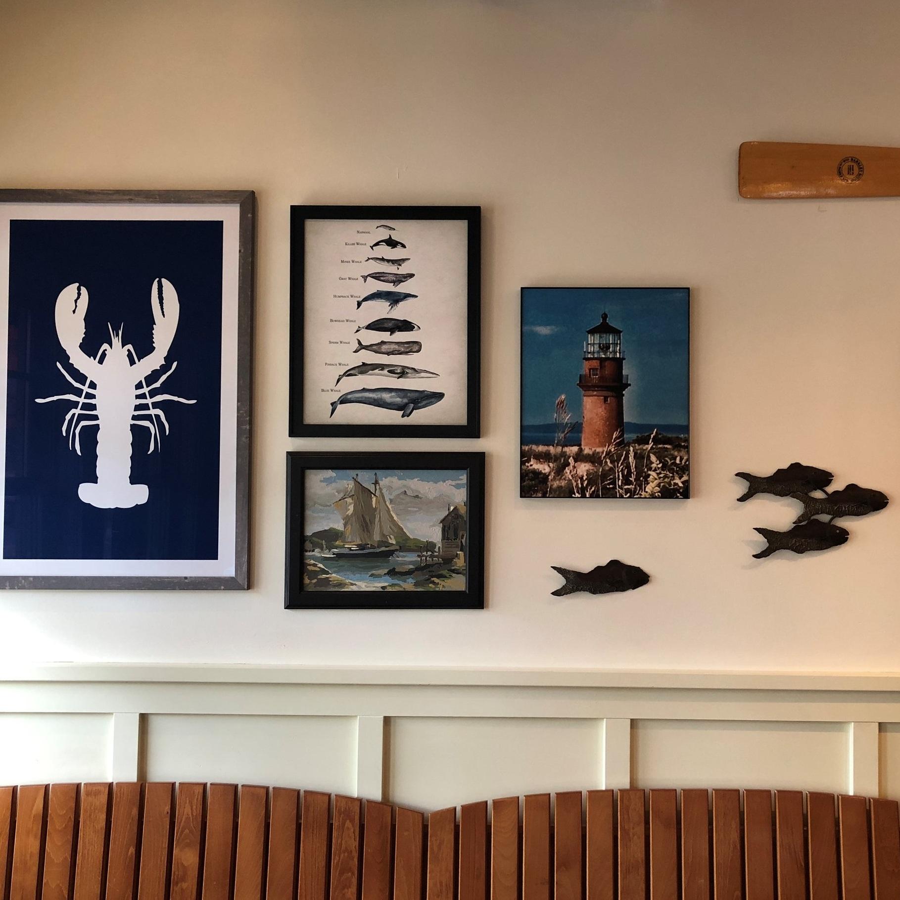 Yankee Pier Art Wall - Interior Design