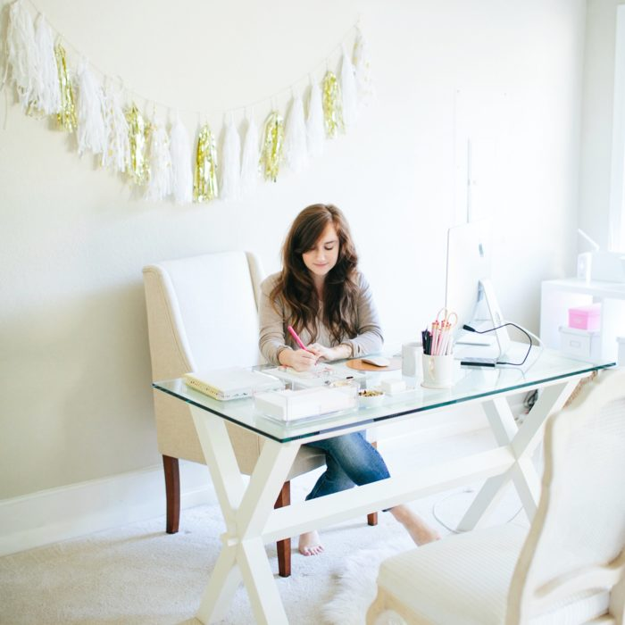 Creative founder Bonnie Bakhtiari of b is for bonnie design