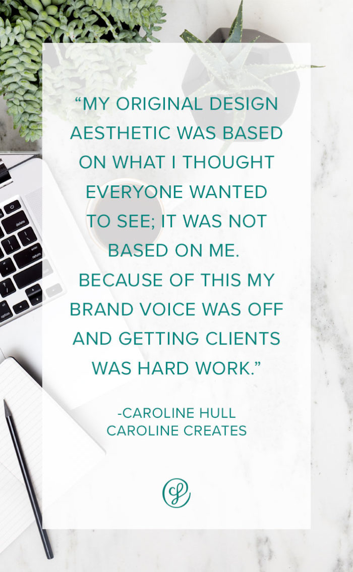 Ask a creative founder - Caroline Hull - How did you find your signature style?