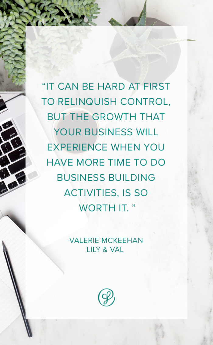 Ask A Creative Founder - How To Hire Team Members - Valerie McKeehan - Lily and Val
