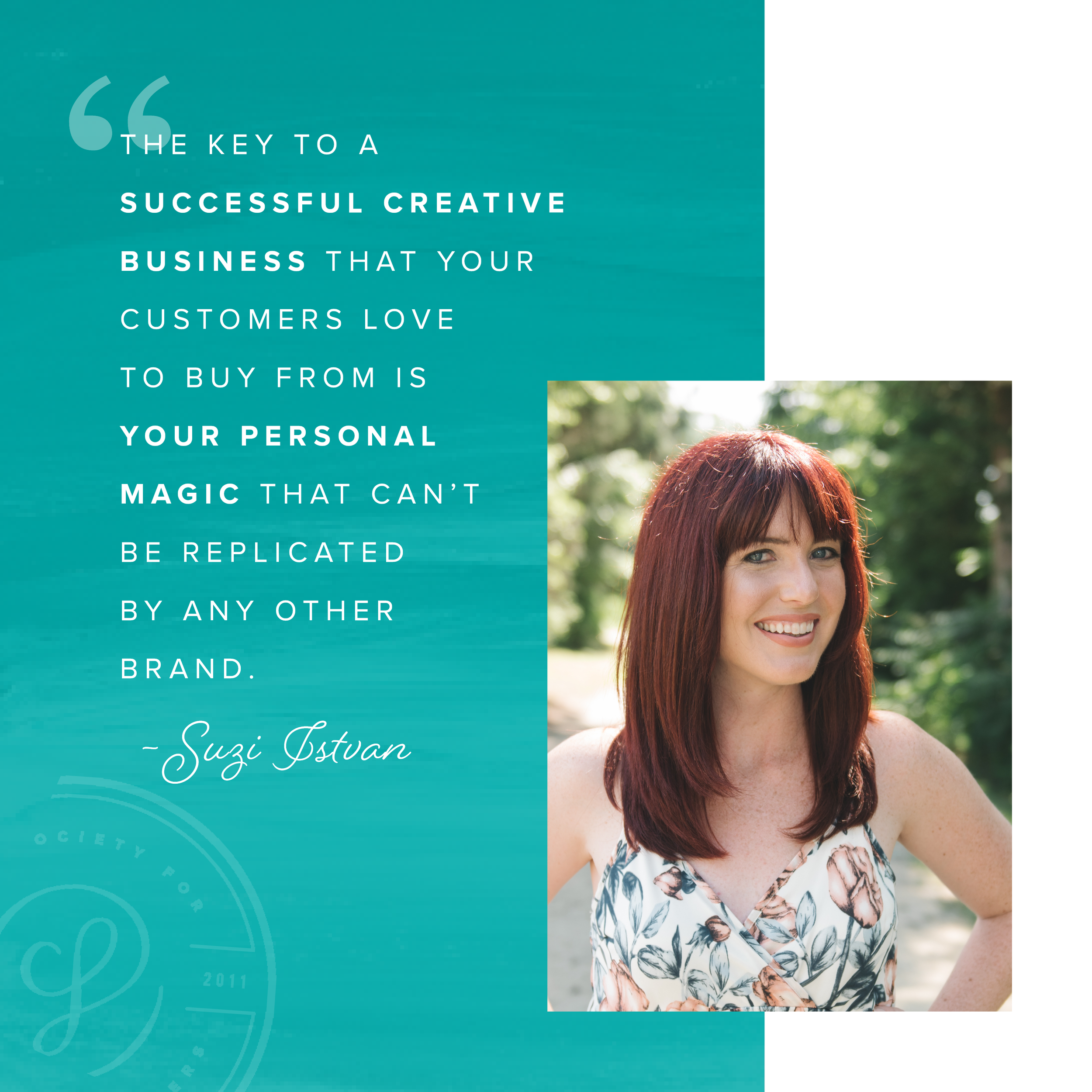 Do you want a successful creative business? Guest post by Suzi Istvan for Society for Creative Founders