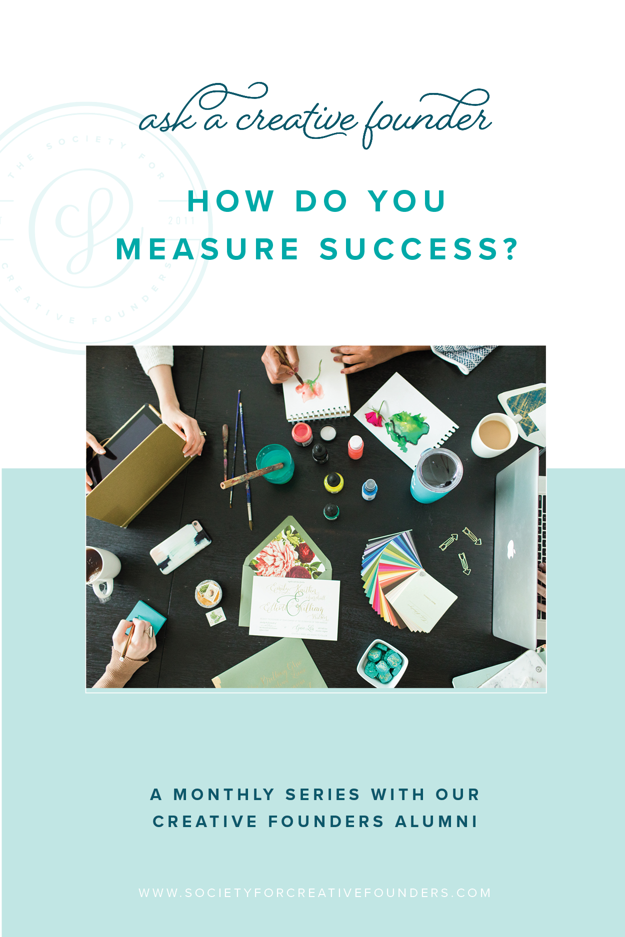 How to Measure Success - thoughts from Society for Creative Founders