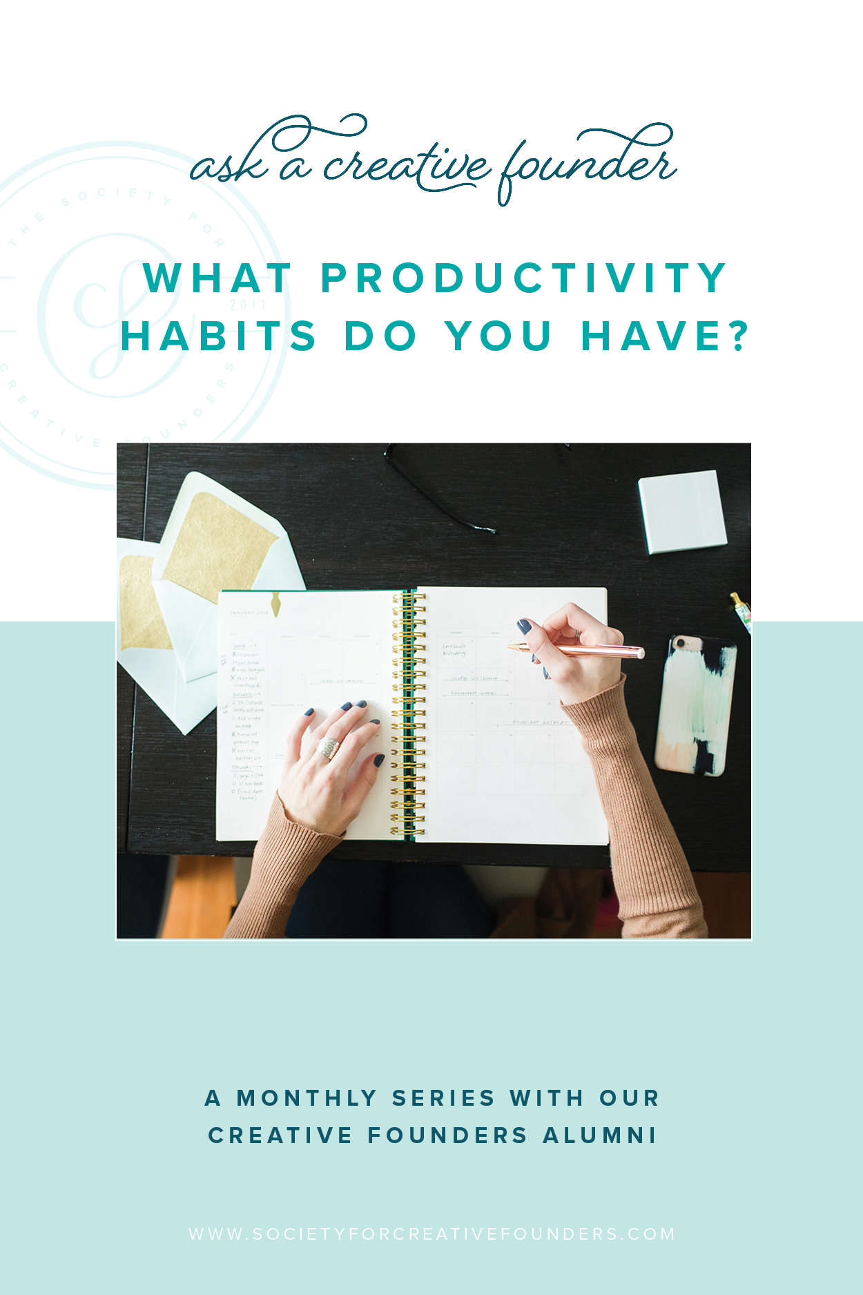 How to hold yourself accountable and productivity tips from Creative entrepreneurs