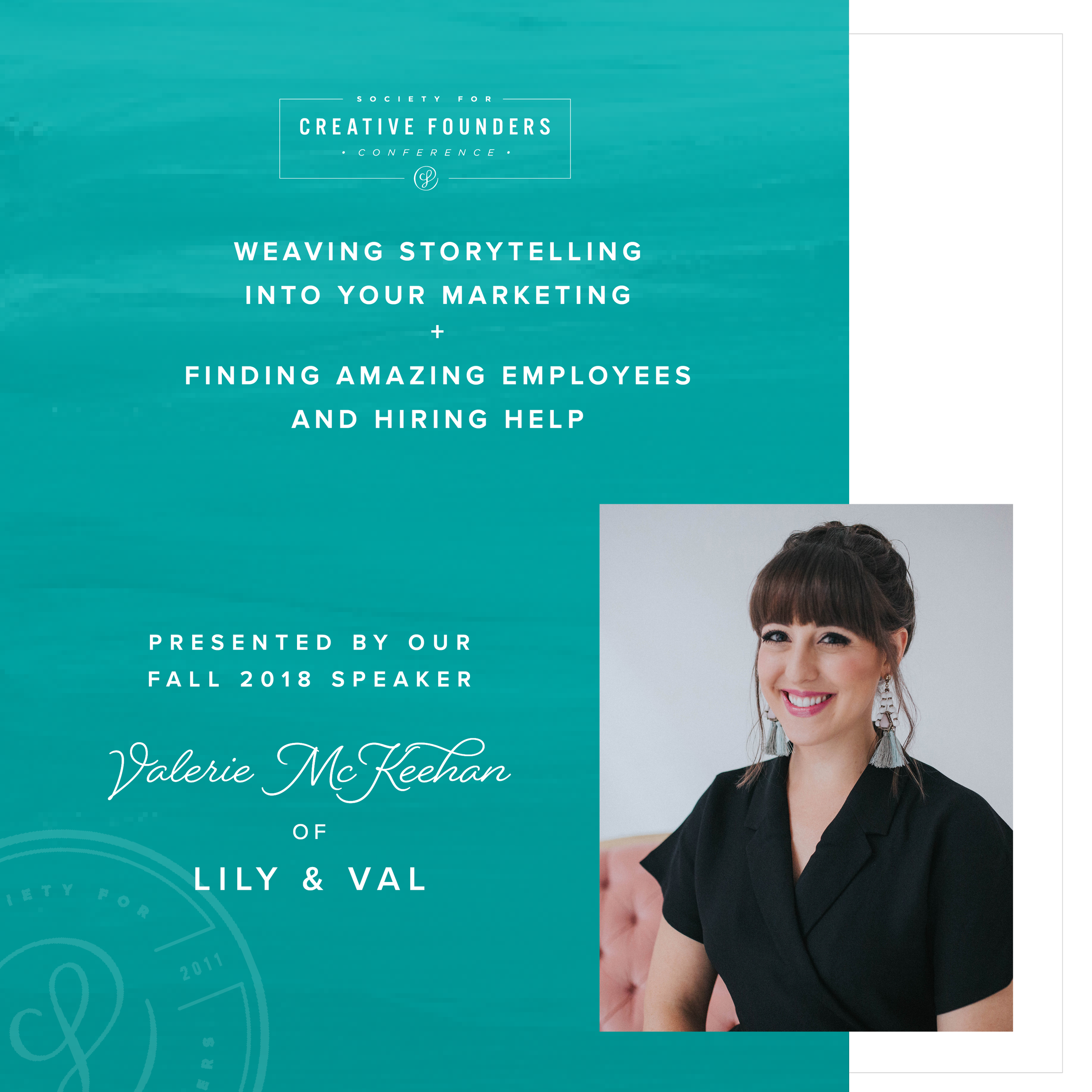 2018 Creative Founders Conference Speaker Valerie McKeehan of Lily and Val