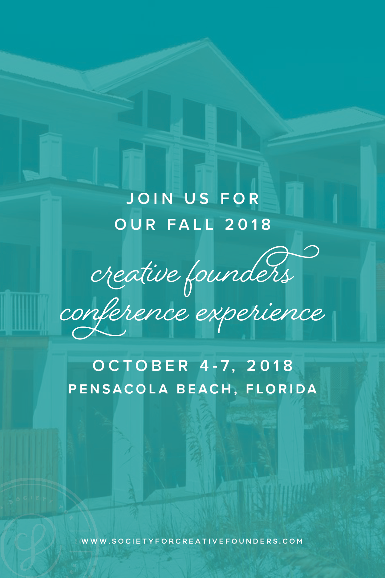 Join us for our Fall 2018 Creative Founders Conference!