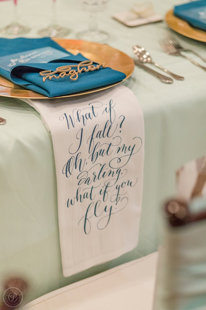 Oh but my darling, what if you fly? Tea Towels by St. Blanc Creative