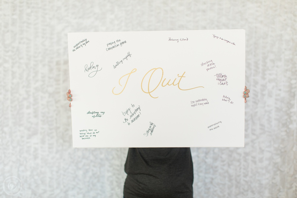 I will and I Quit at the One on One Sessions at the Spring Creative Founders Conference, Day 3 Recap