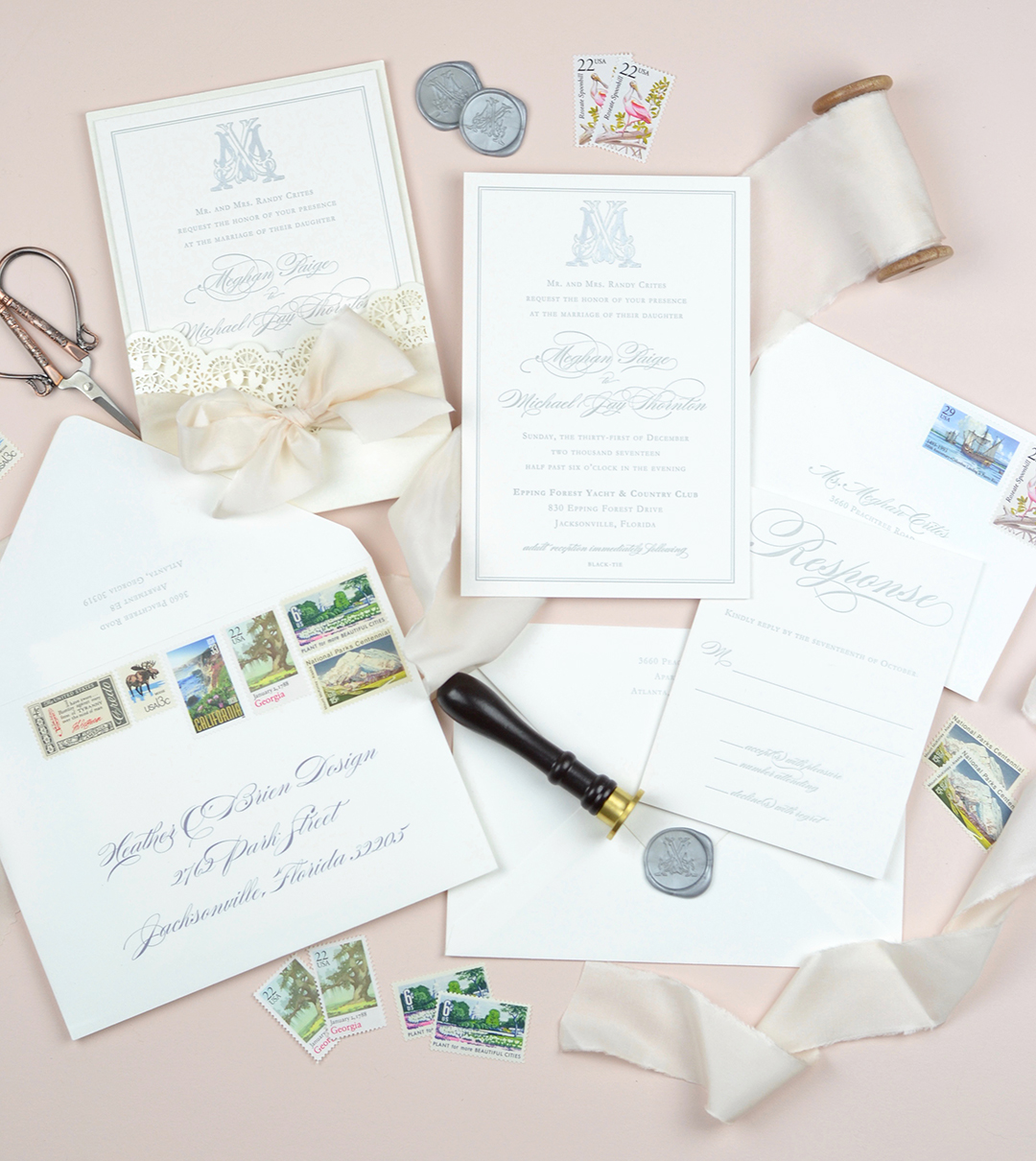 Heather O'Brien Design Wedding Invitations - Fall 2018 Creative Founders Conference Speaker