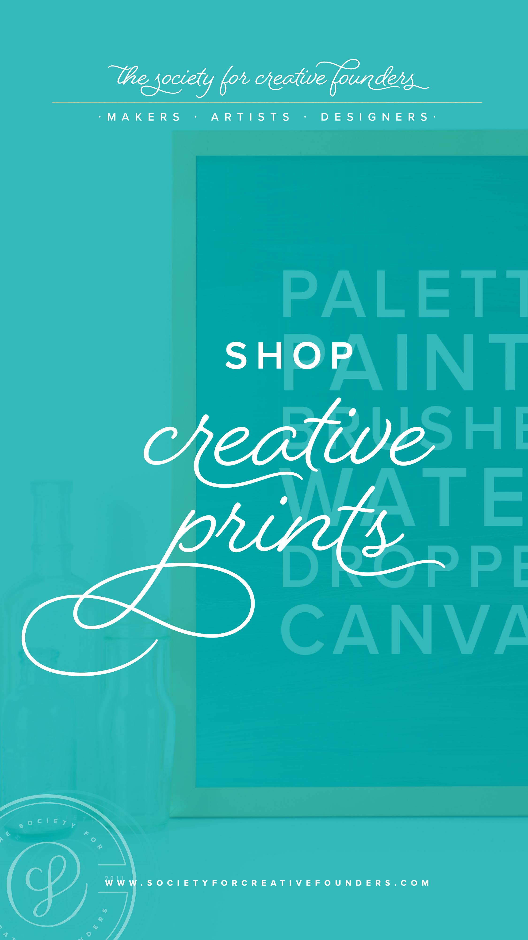 Creative Founders Shop - Prints