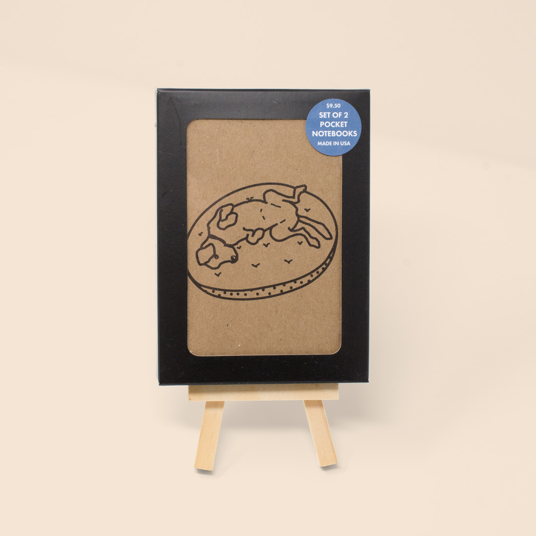 Set of 2 Dog Pocket Notebooks - Sixth and Berry