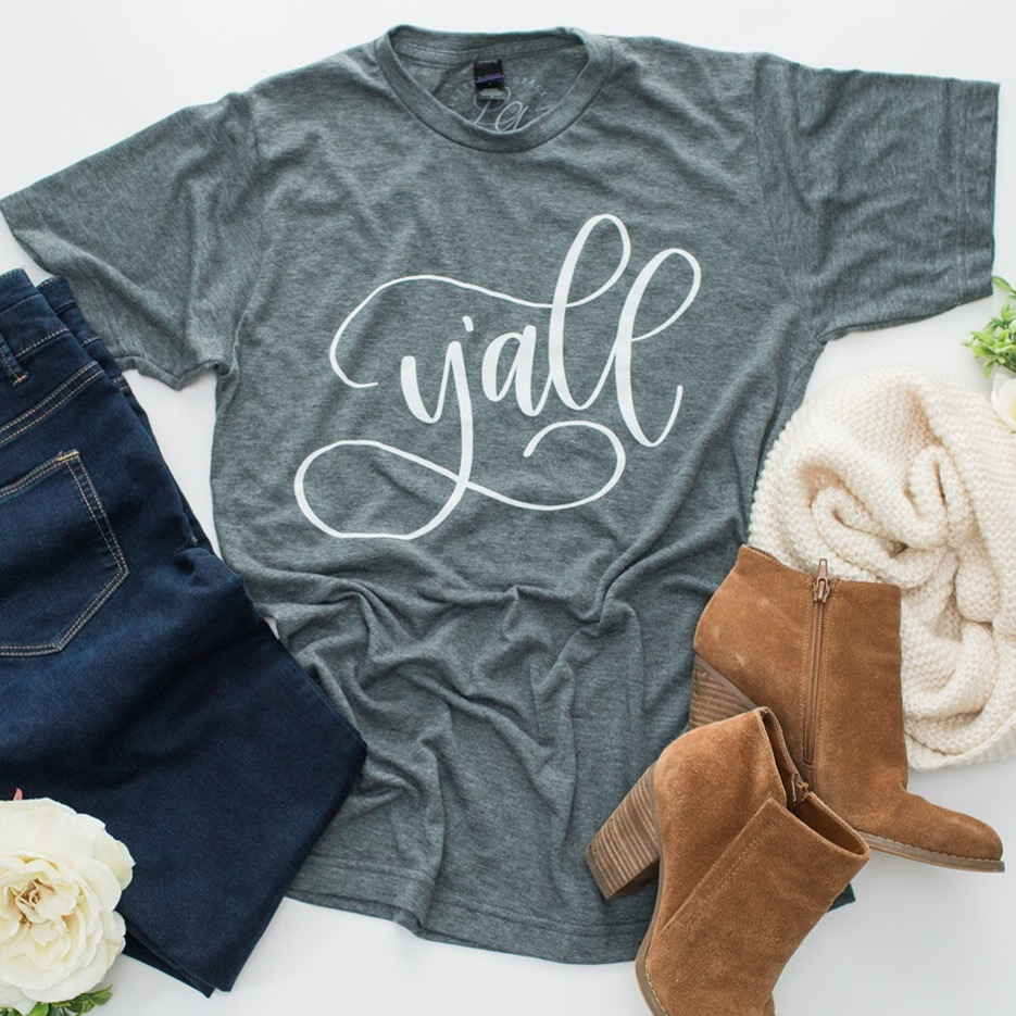 Y'all Tee - Lettered Grace