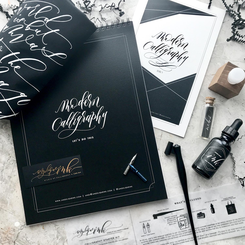 Calligraphy Starter Kit - Angelique Ink