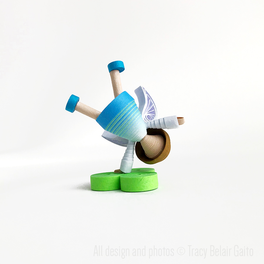 Tiny Fairy Figurine - Runner Bean Arts