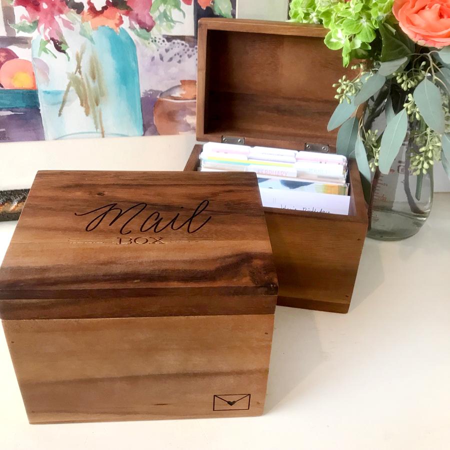 Greeting Card Organizer - Barque Gifts