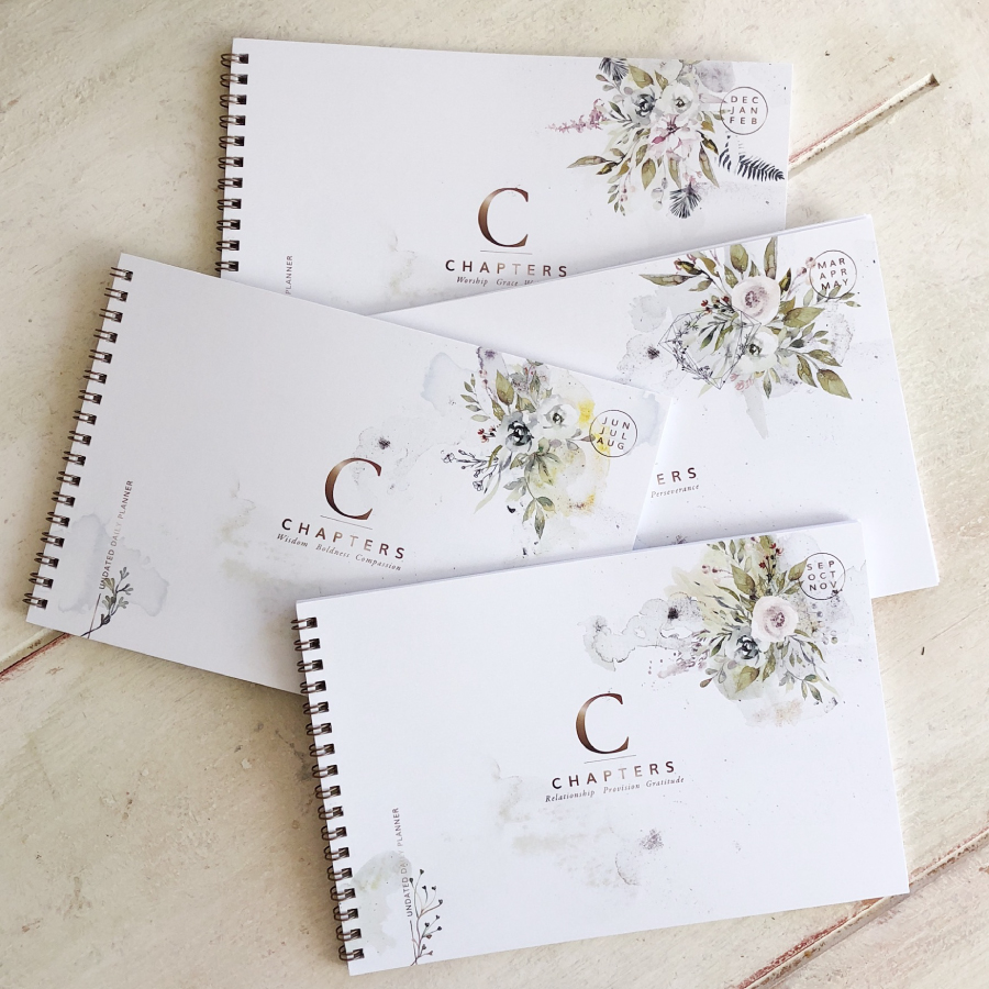 Chapters Undated Daily Planner - Codex Planner