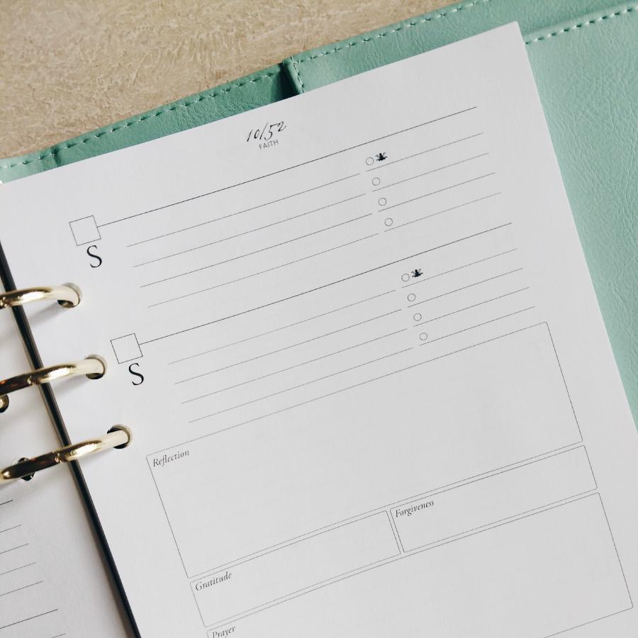 52 Weeks A5 Planner - Codex Planner
