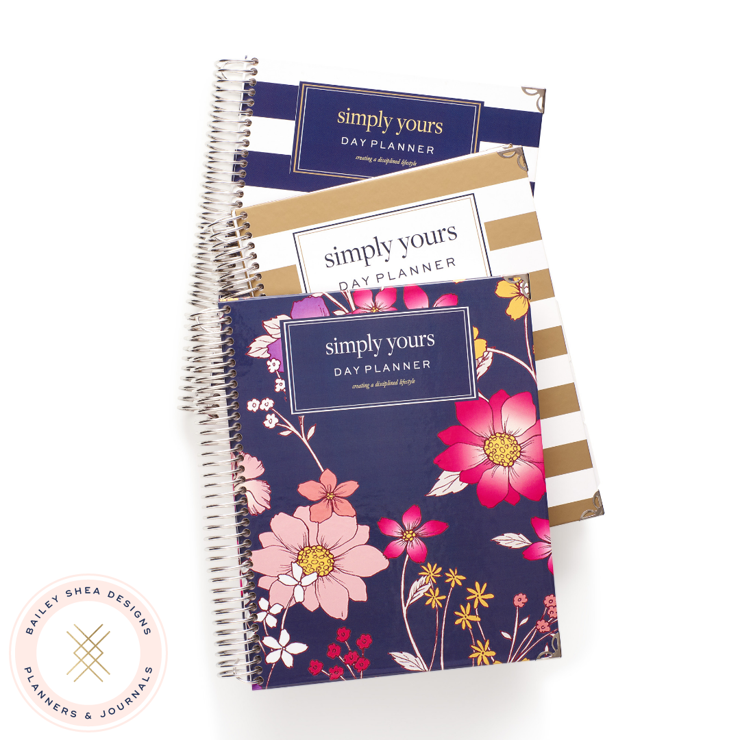 Simply Yours Day Planner - Bailey Shea Designs