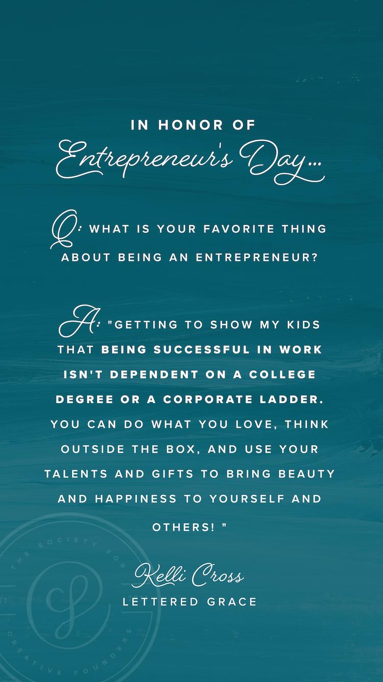 Celebrating Entrepreneurs - Society for Creative Founders