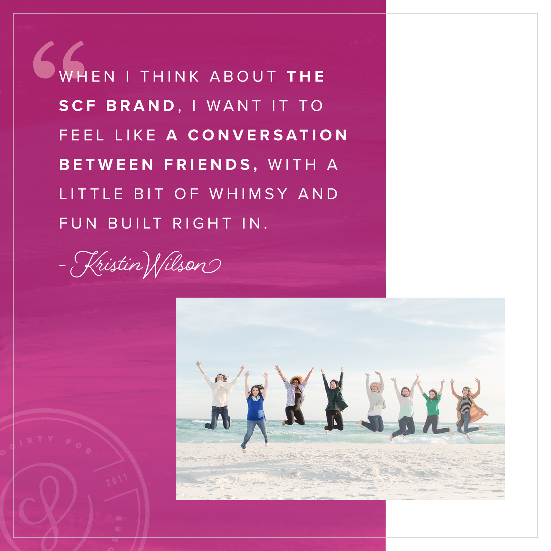 Society for Creative Founders Branding Refresh