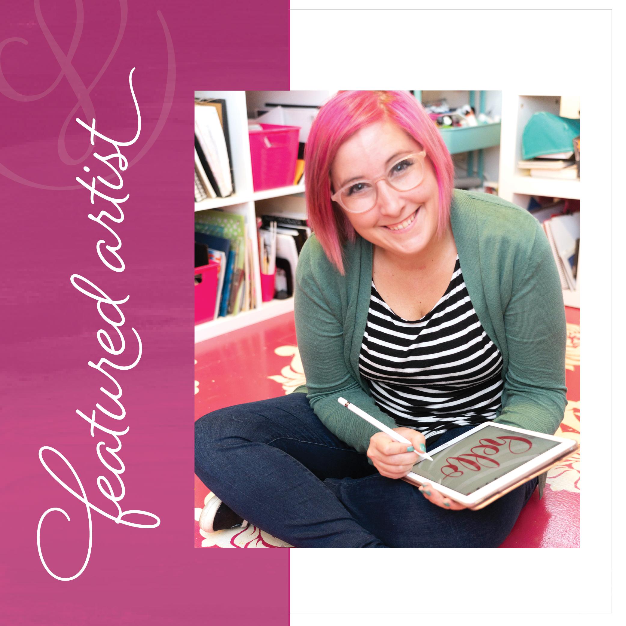 Handlettering Artist Shawna Clingerman - Society for Creative Founders
