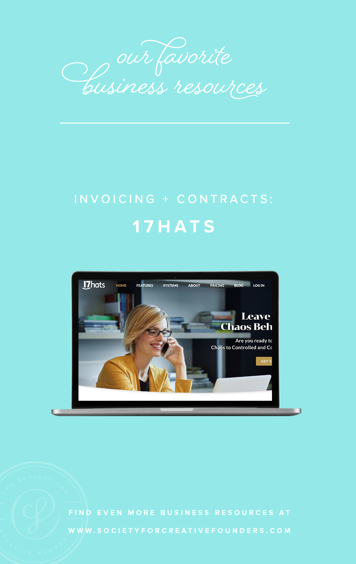 17Hats for Invoicing and Contracts - Favorite Business Resources from Society for Creative Founders