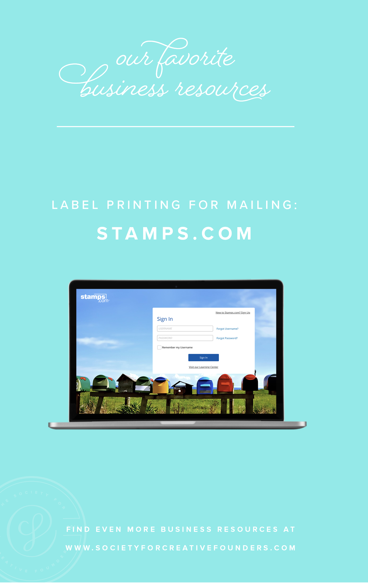 Label Printing with Stamps.com - Favorite Business Resources from Society for Creative Founders