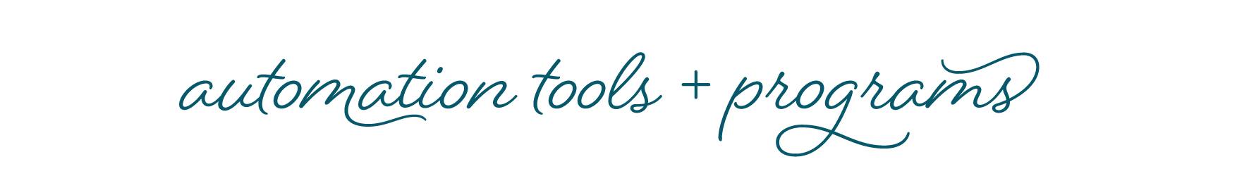 Society for Creative Founders - Automation Tools and Programs