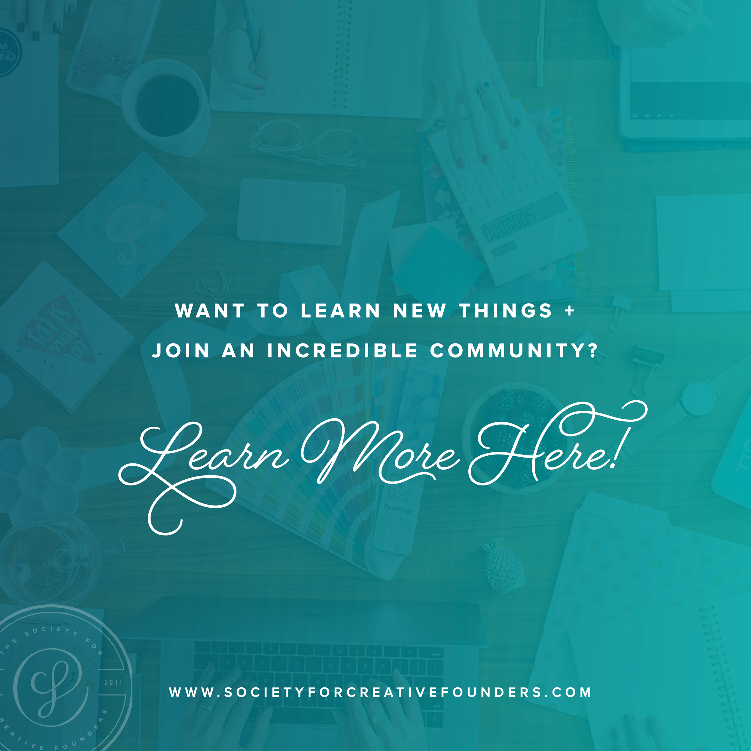 Join the Society for Creative Founders Community