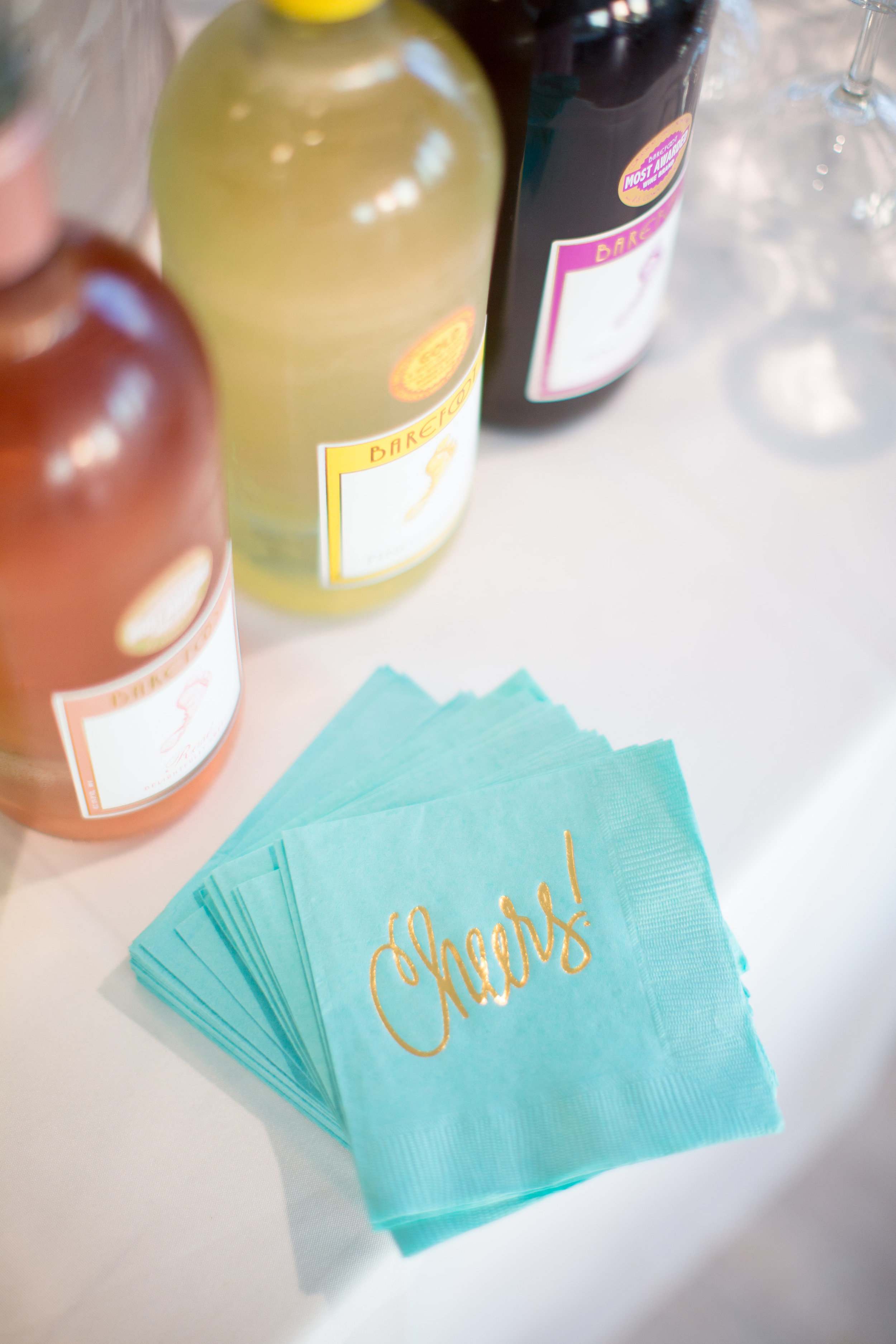 "The Cheers and ""Best Day Ever"" Napkins were created by one of our original 2011 Conference Alums,  Natalie Chang !"