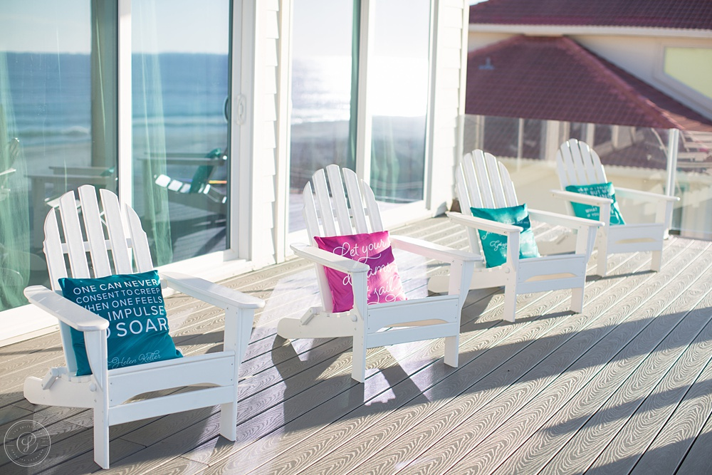 Pillows on Balcony - Society for Creative Founders Conference - Day Two