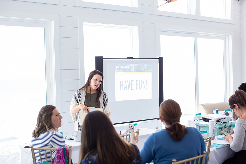 Amy Kinslow of Southern Fried Design Barn - Society for Creative Founders Conference - Day 3!