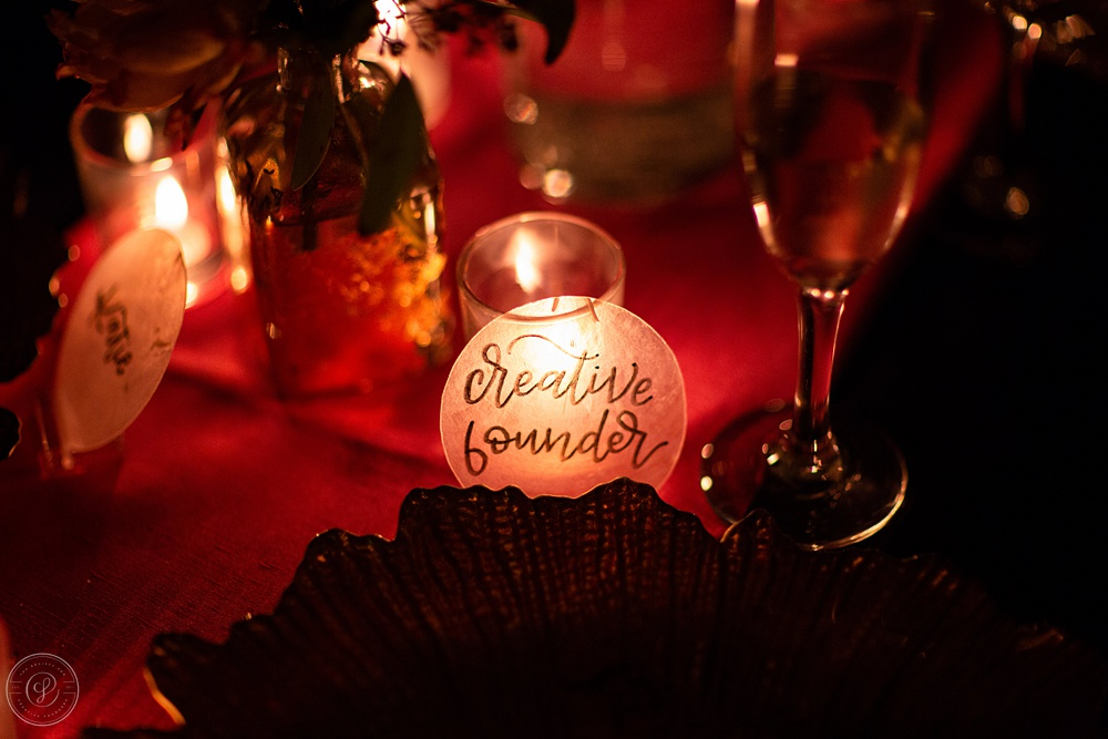 Celebration Dinner - Society for Creative Founders Conference - Day 3!