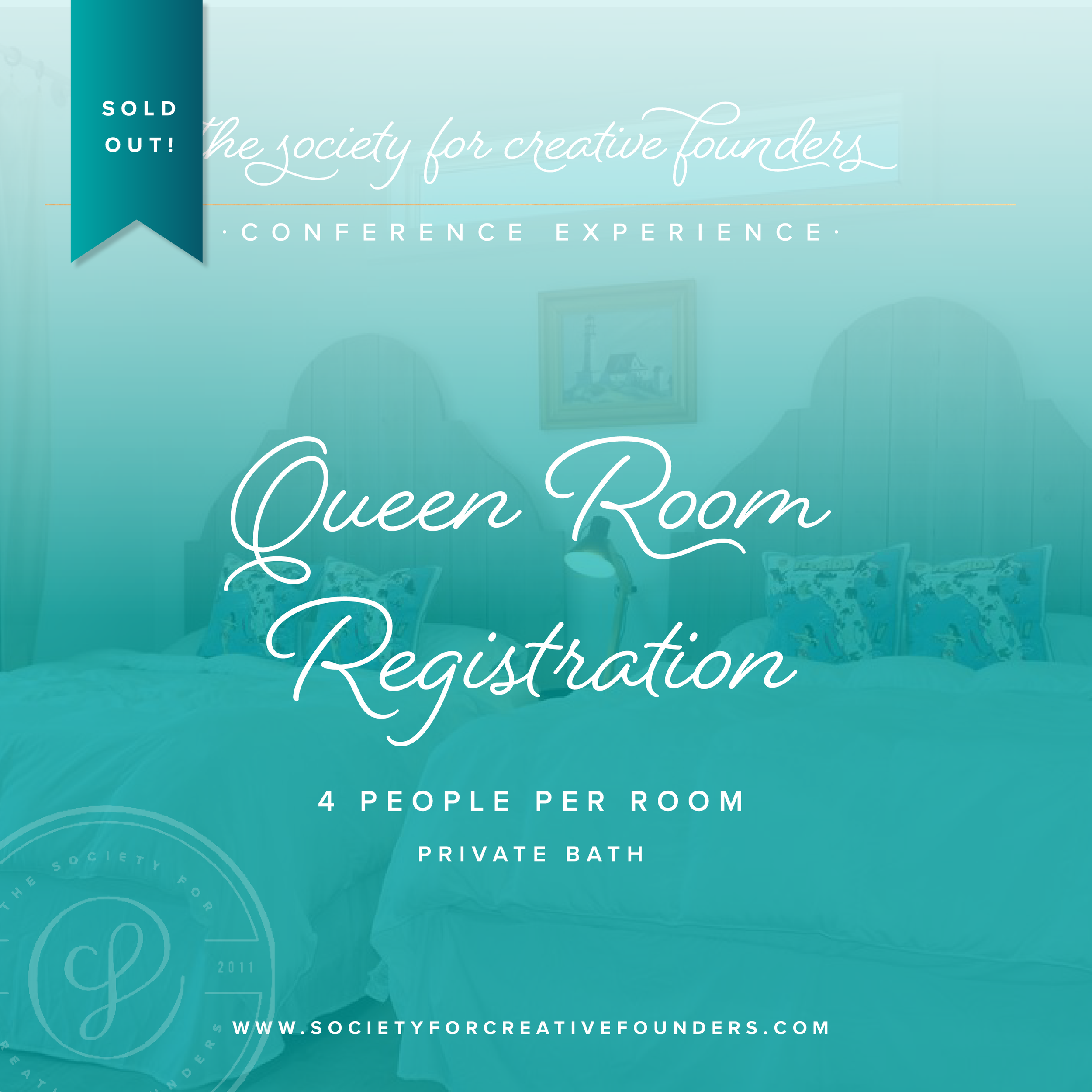 Society for Creative Founders Conference - Queen Room Sold Out