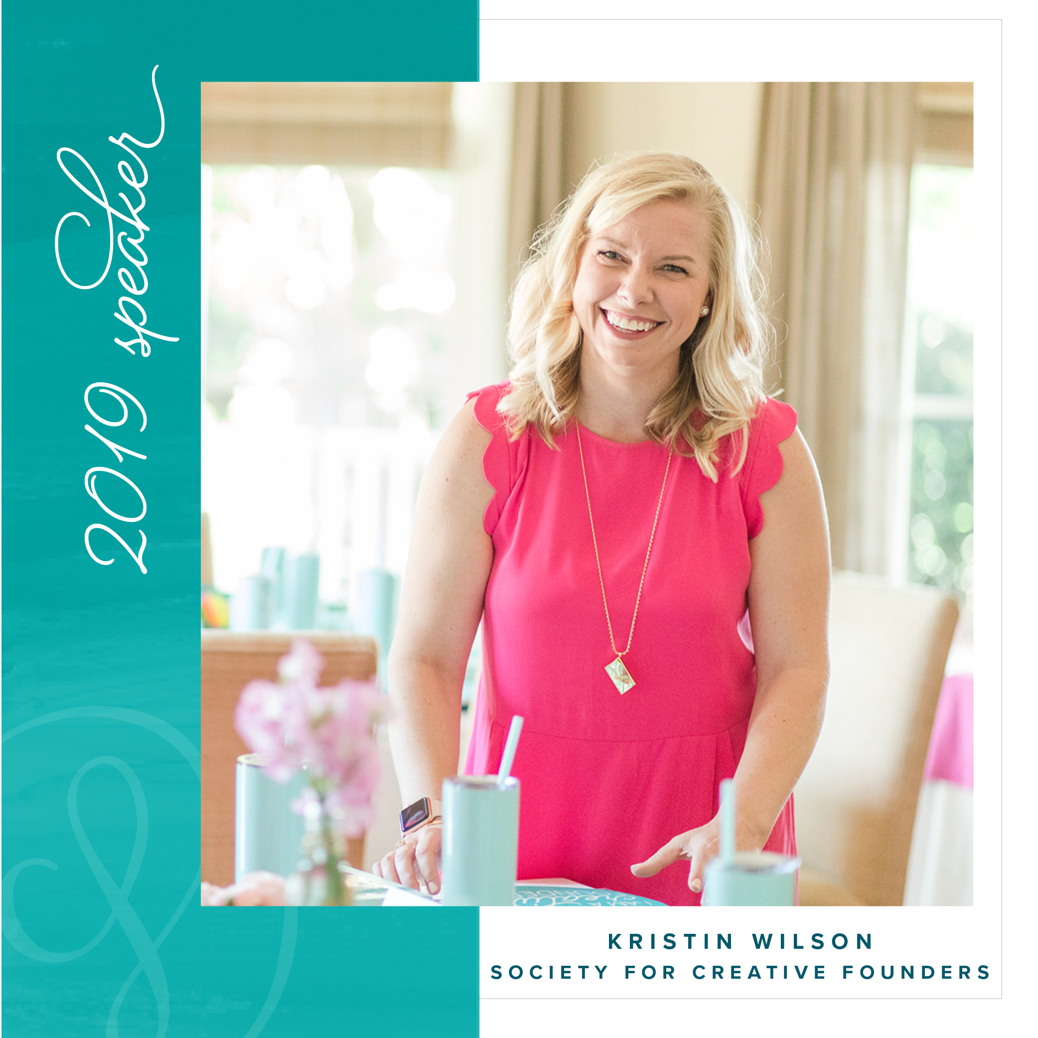 Kristin Wilson of the Society for Creative Founders - 2019 Creative Founders Conference Speaker