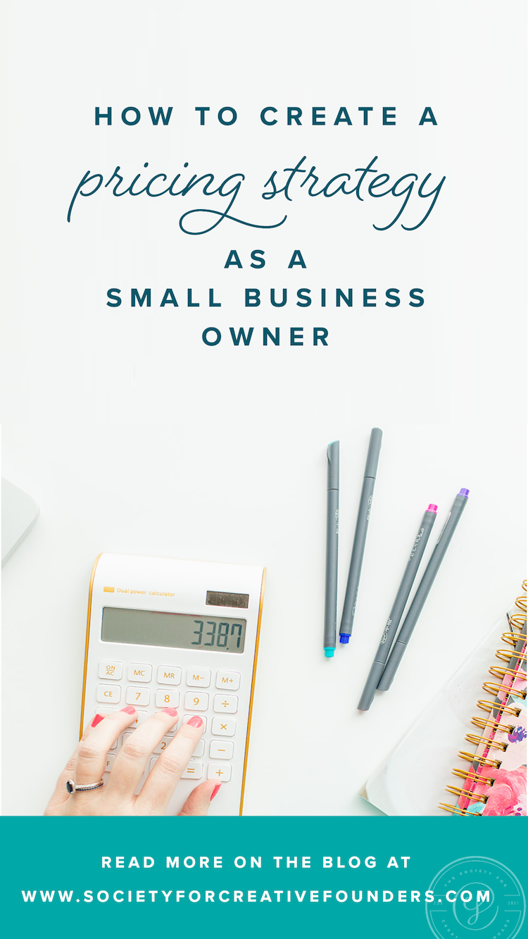 How to Create a Pricing Strategy as a Small Business