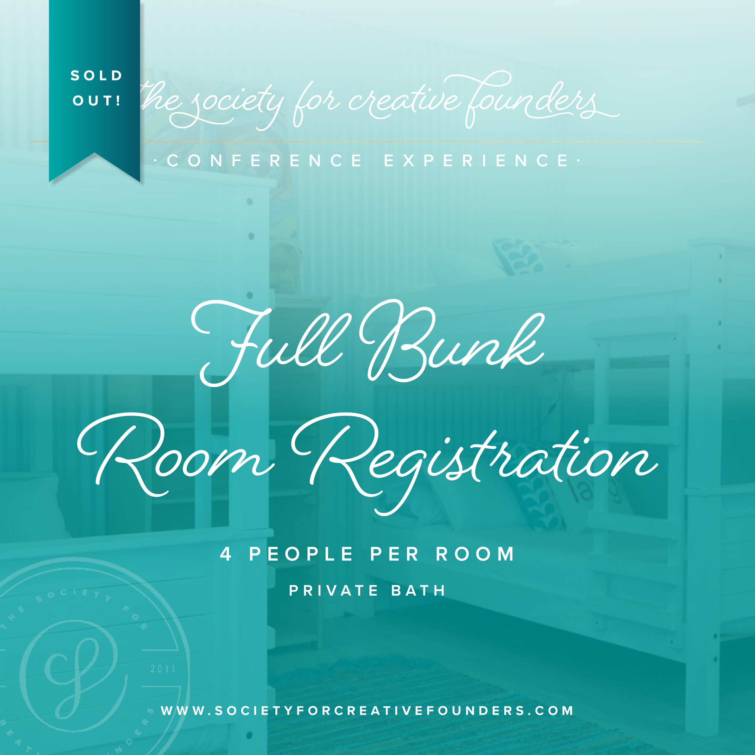 SCF - 2019 Fall Conference - Full Bunk Rooms - Sold Out