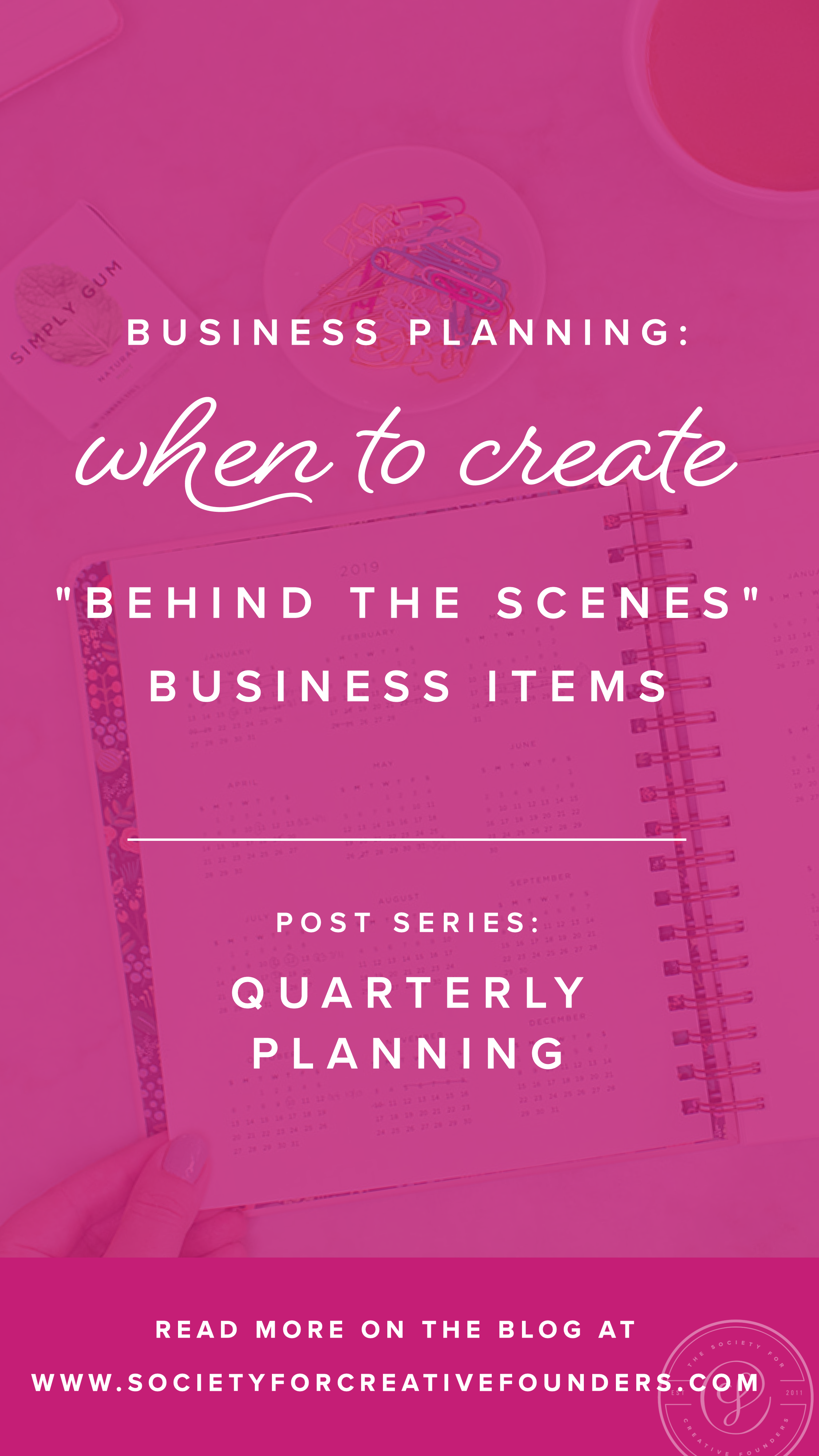 How to Run a small Business and plan for Quarterly Planning