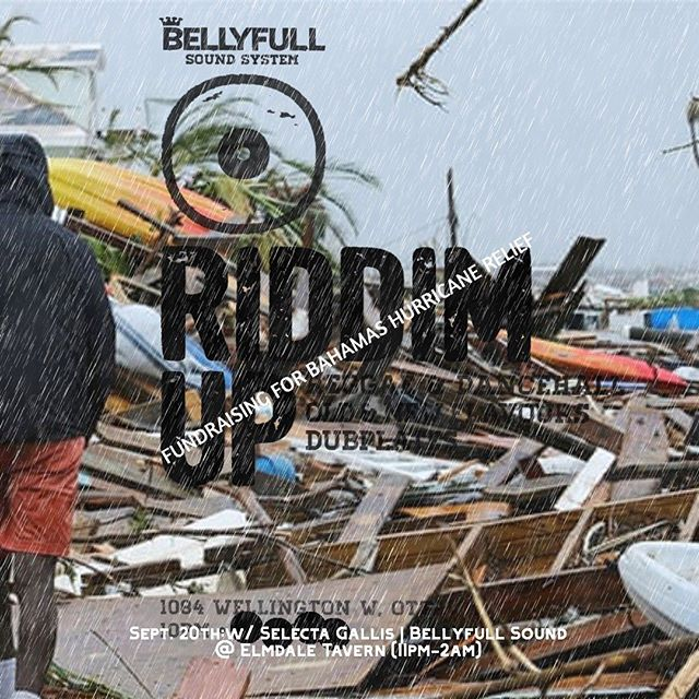 Next episodes.... rock and come een next friday @elmdaletavern with @bellyfullsoundsystem alongside @realgalis playing positive music all night long in support of the victims of Bahamas after Hurricane Dorian.... then follow us to Lucky's on the 21st where we'll be celebrating Dj Boom @keep_di_link_radio Earthstrong 🔥🔥🔥🔥 • • • #bellyfullsound #groovemovements #kdlr #bahamas #fundraiser #hurricanedorian #reggae #dancehall #positivevibes #upful #soundsystemculture