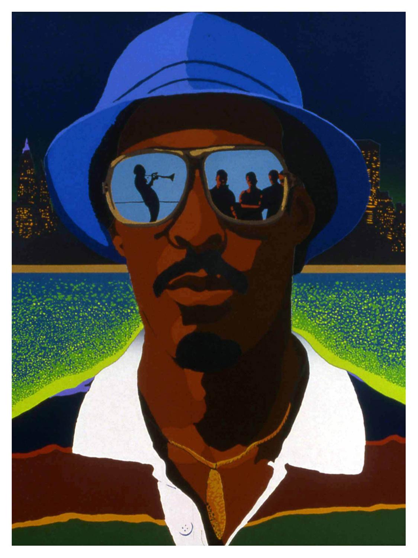 City Lights (Self Portrait), 1982