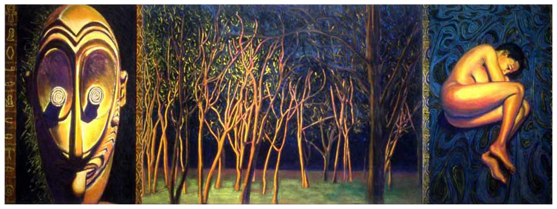 Rhythm (triptych), 1988