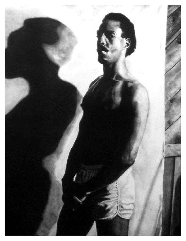 Self Portrait with Shadow, 1984